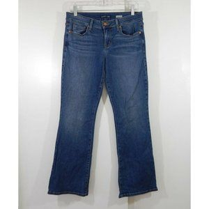 LEVEL 99 jeans mid rise bootcut boot blue 29P